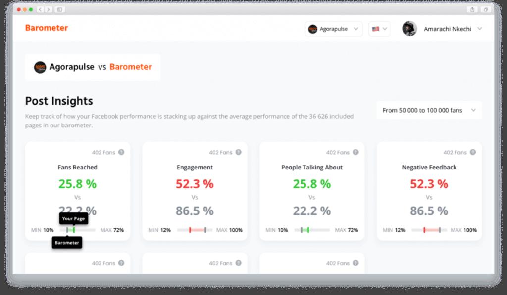 Agorapulse is a straight-forward social media management suite.