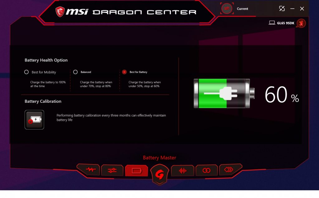 MSI GL65 battery review