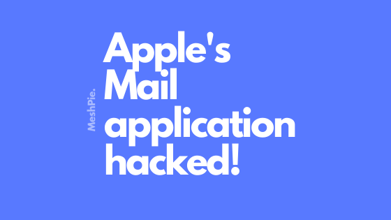 Apple's Mail application hacked