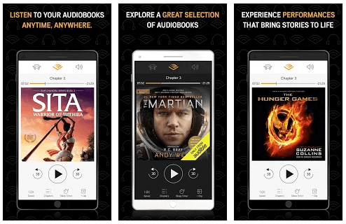 Audible eBook reader for Android