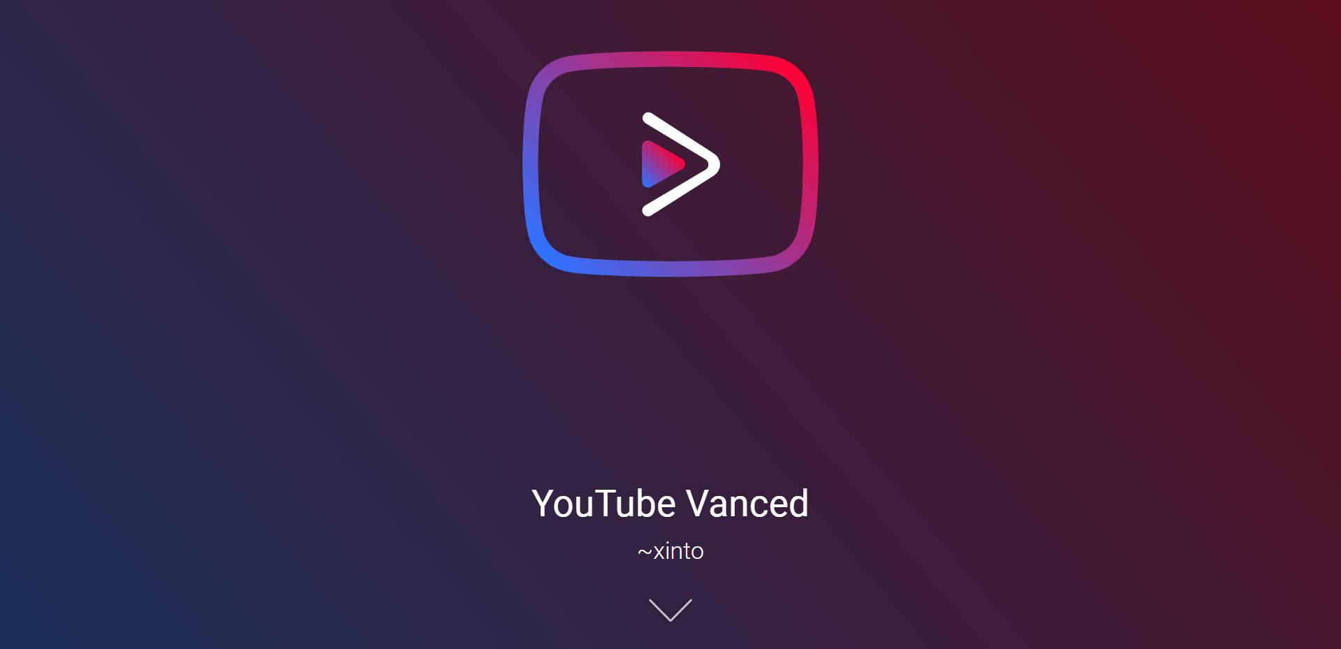 YouTube Vanced Intro
