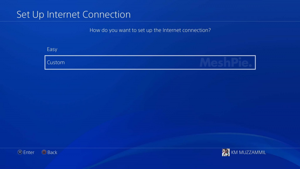 Custom DNS feature PS4