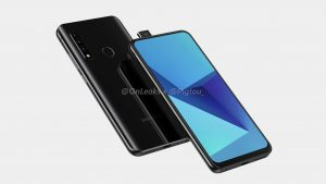the new leaked images shows that the new Samsung smartphone comes with pop-up camera
