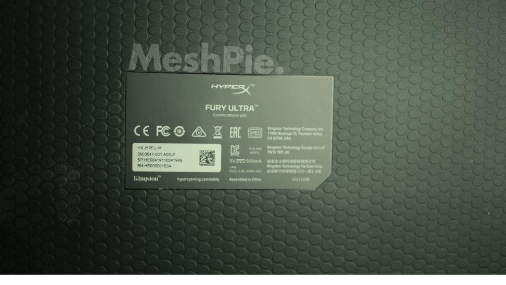 HyperX mousepad grip