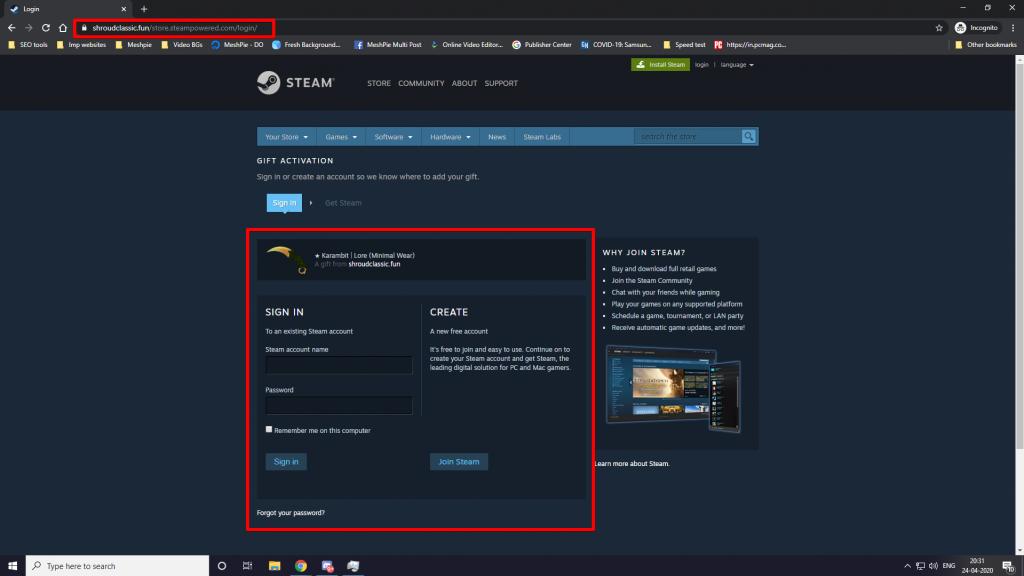 twitch scam