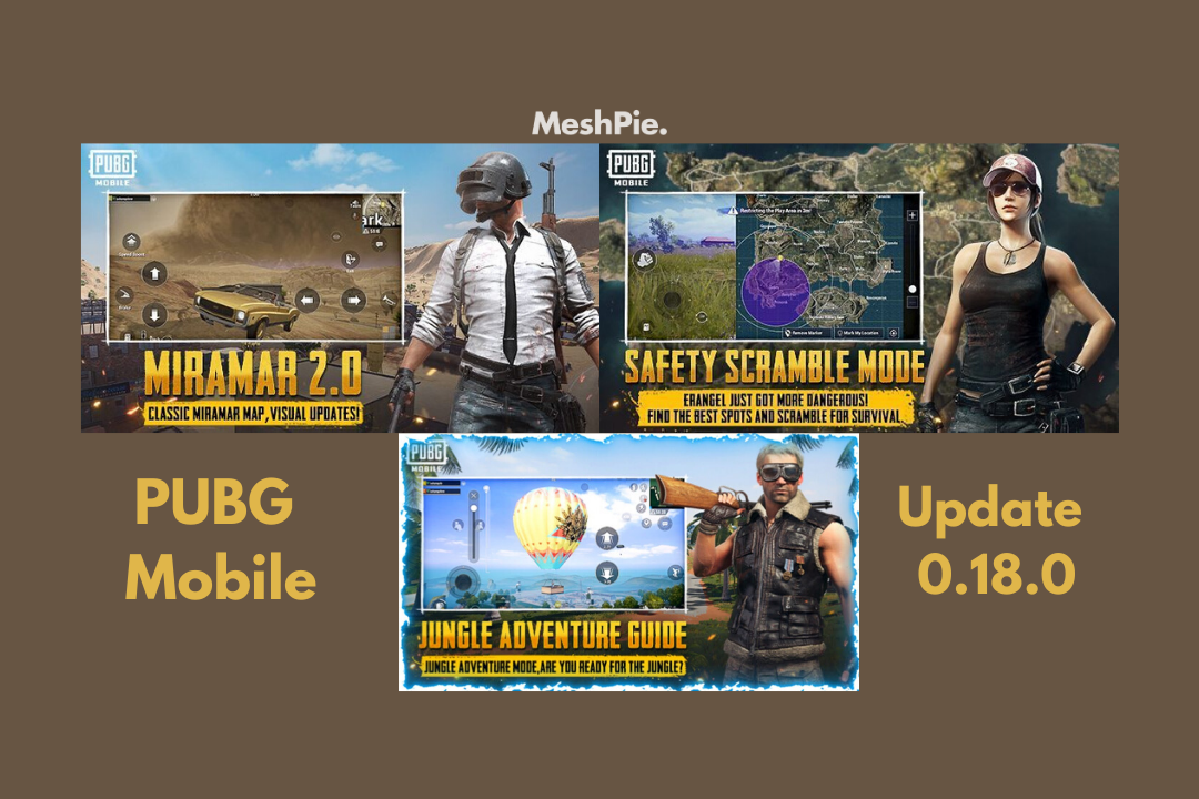 PUBG mobile update 0.18.0 expected to roll out on April 24th
