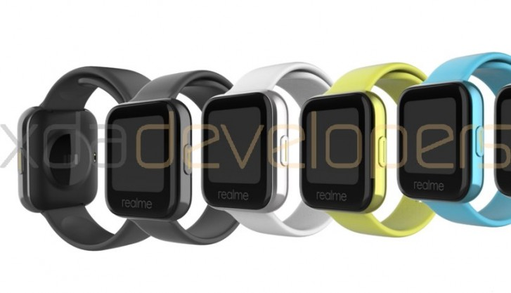 the image shows that the watch comes in 4 different colors