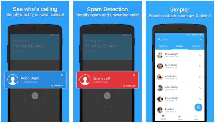 simple caller id app for android,Best dialer app for Android