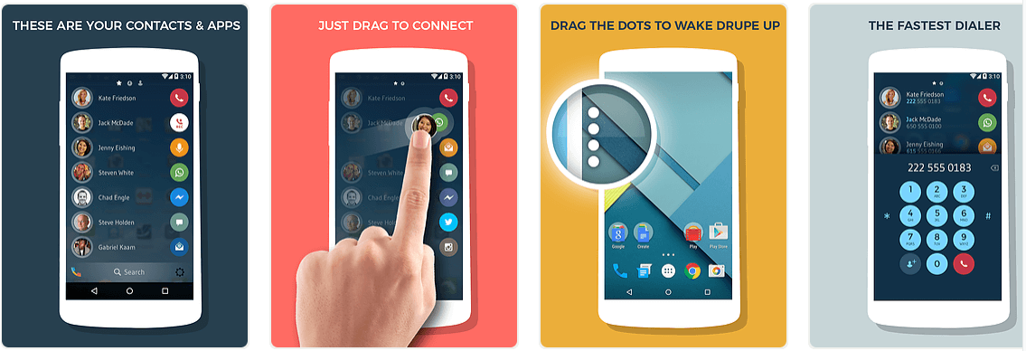 drupe dialer app for android,Best dialer app for Android