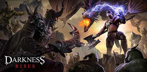 Darkness rises is one of the role playing game available for android
