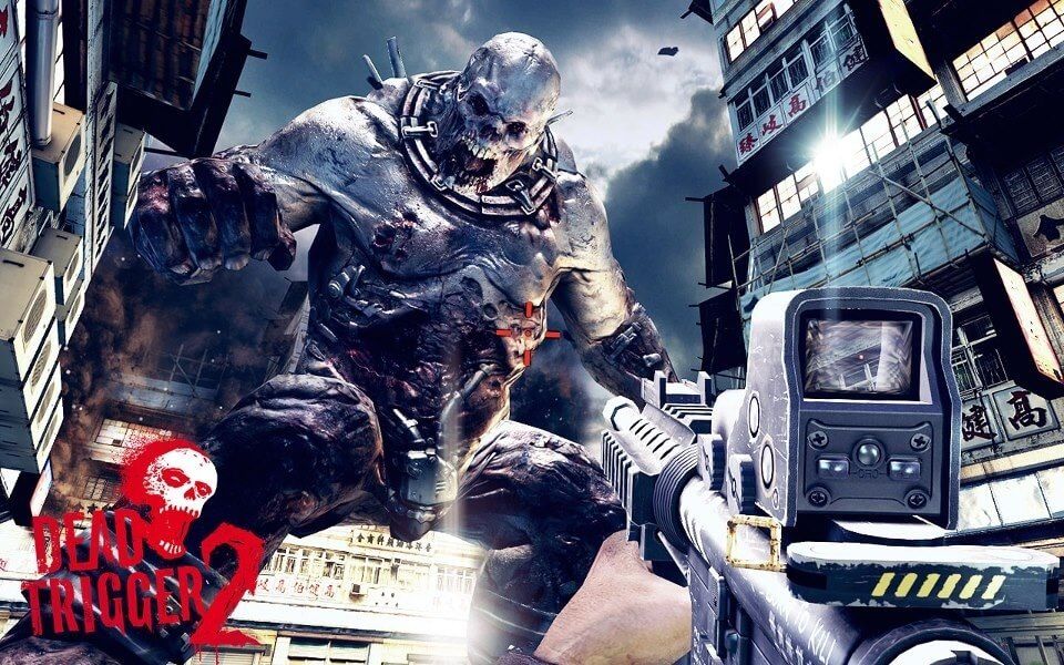 dead trigger 2 is the best thrilling first person shooting game for android