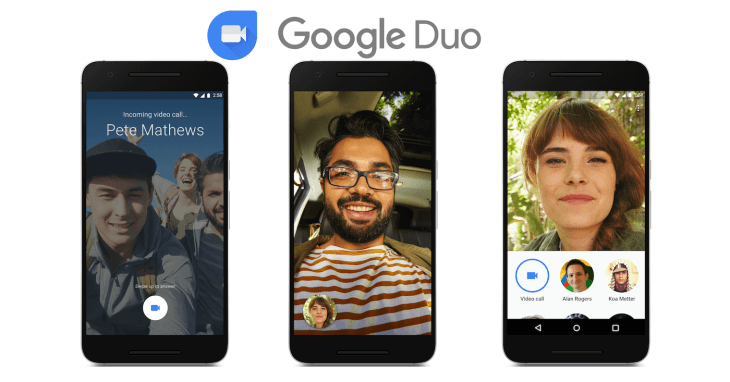 Google Duo is a video conferencing application