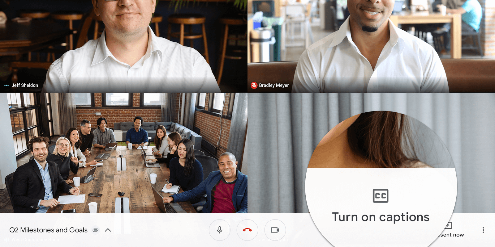 Google hangouts now being renamed as Google Meet is one of the best alternatives for Zoom