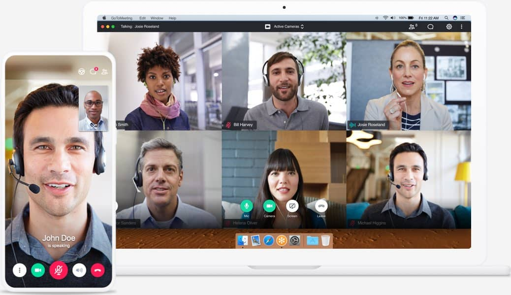 GoTo Meeting is one of the oldest video conferencing application,