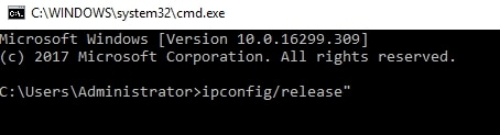 Fix Err connection reset in Chrome cp2