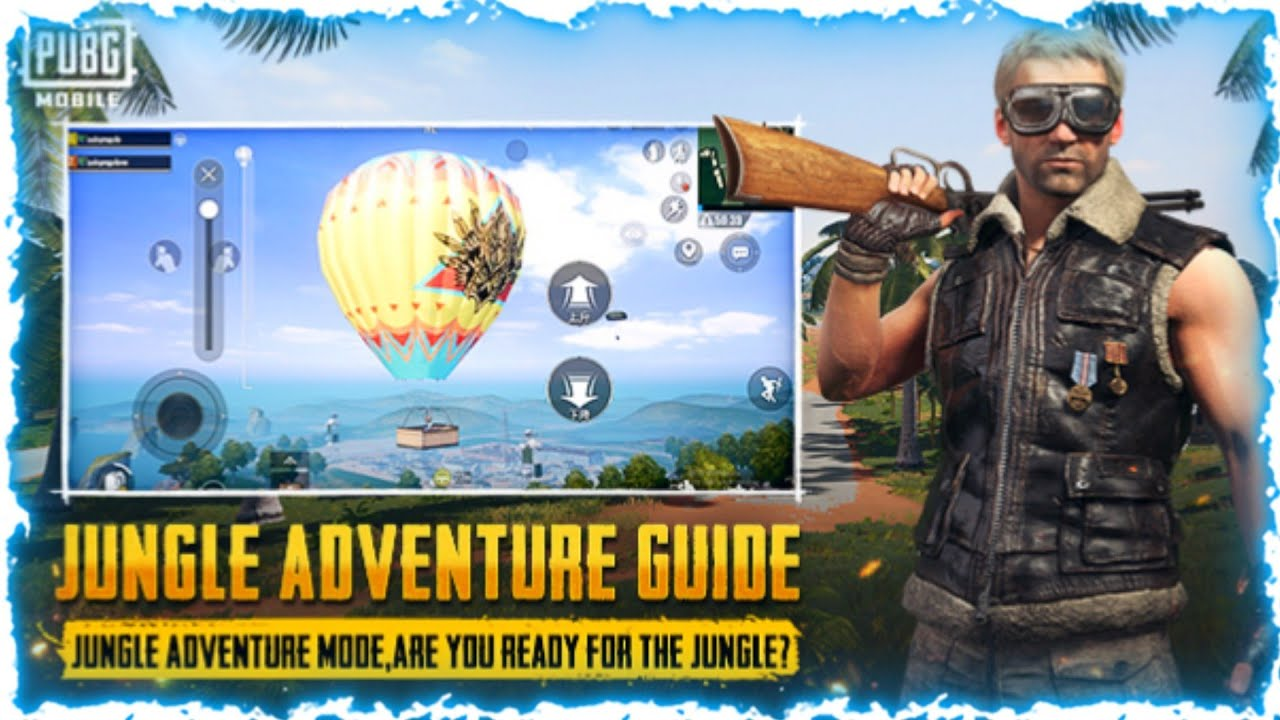 Jungle adventure guide is a new update in Sanhok map.