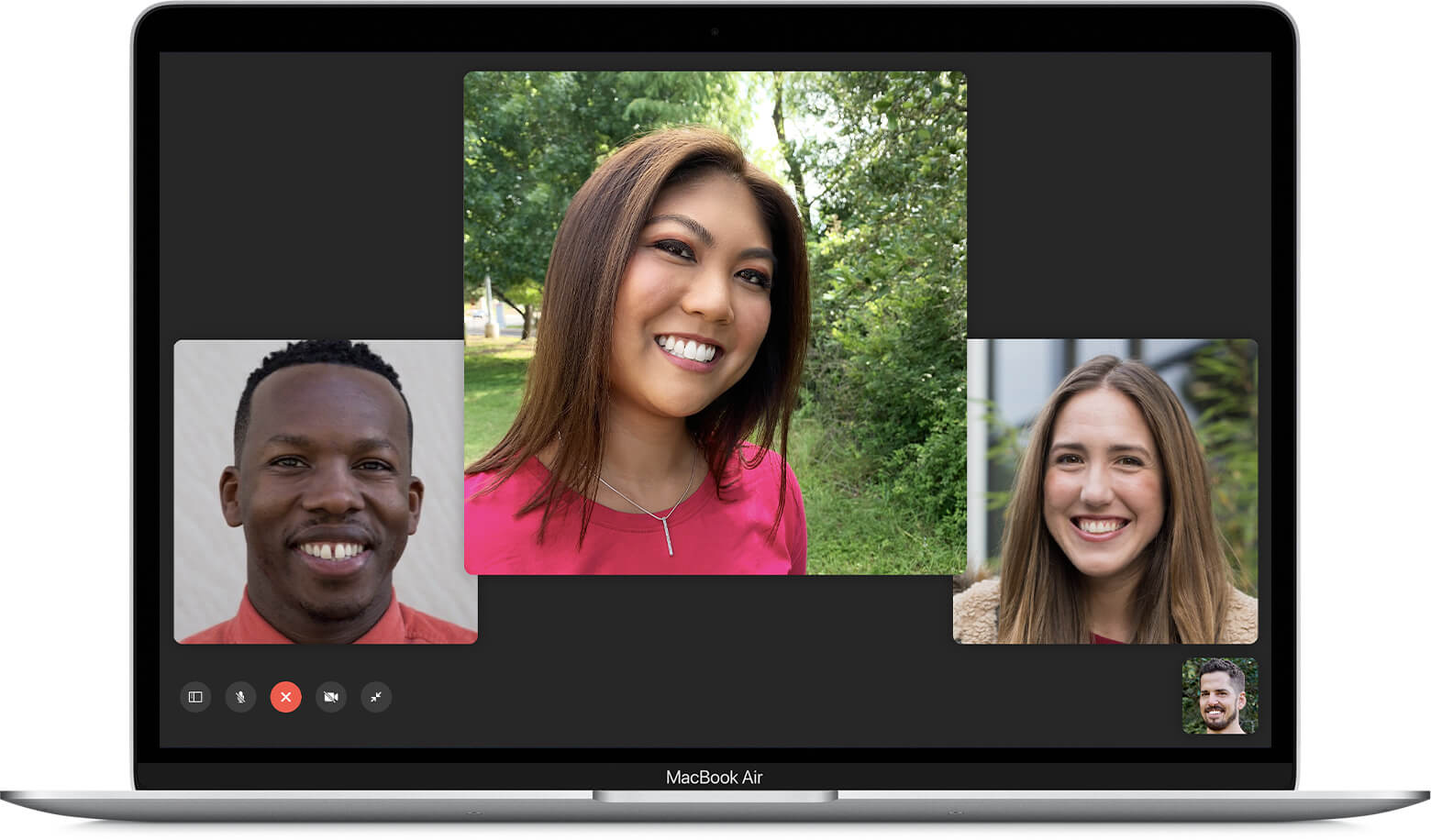 Facetime is the best go to video calling app for Apple users