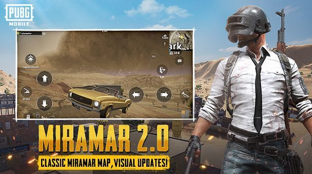 miramar 2.0 is a new map which has lots of new updates.