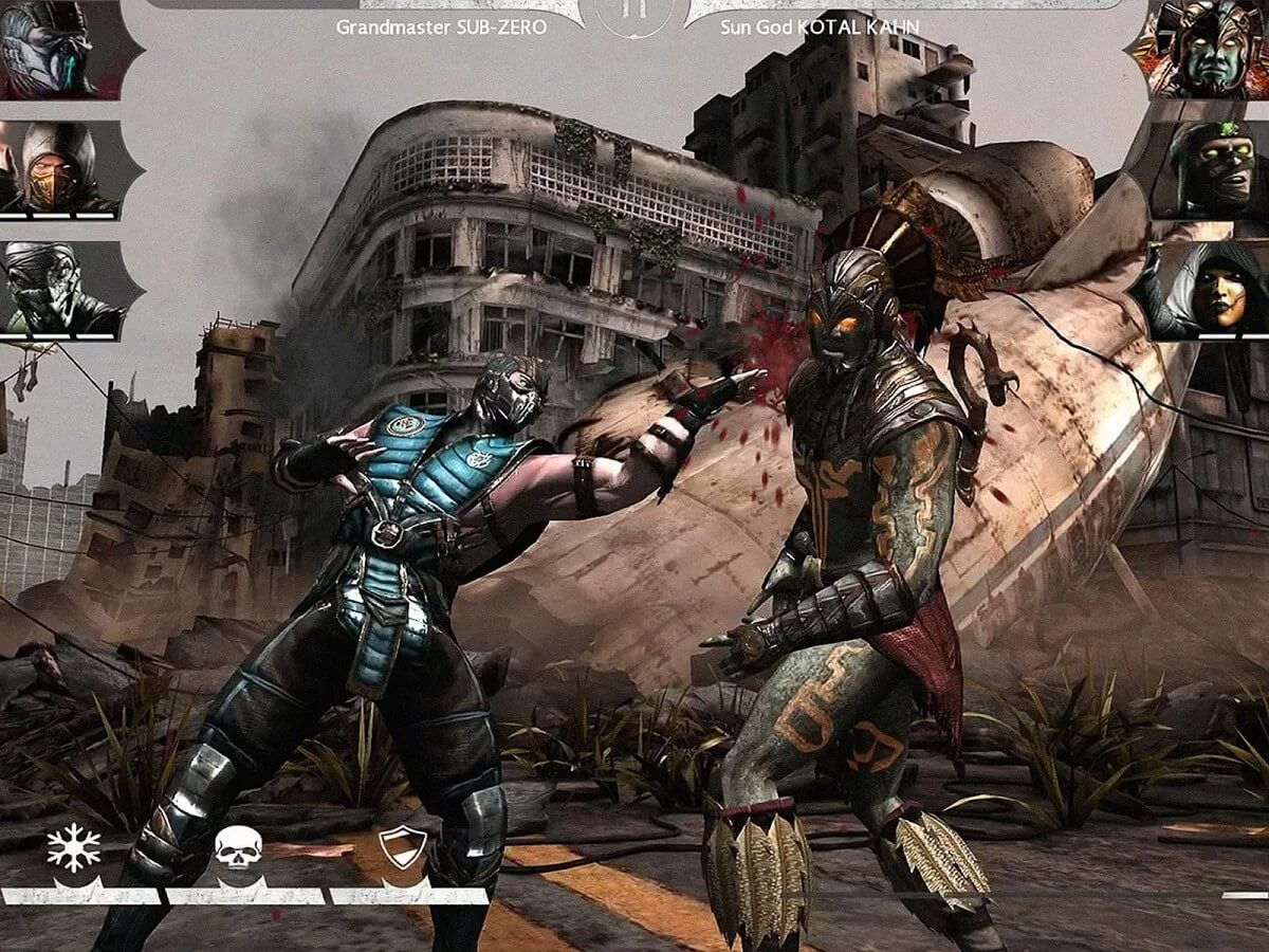 Mortal Kombat is one of the oldest games in all formats under 1 gb