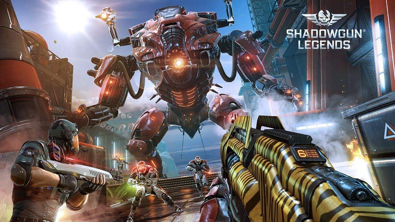 Shadow gun legends is the best non stop FPS and player Vs player game top android games in 2020