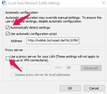 Fix Err connection reset in Chrome proxy 3