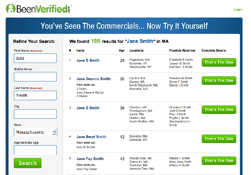 BeenVerified is one of the best reverse phone lookup application.
