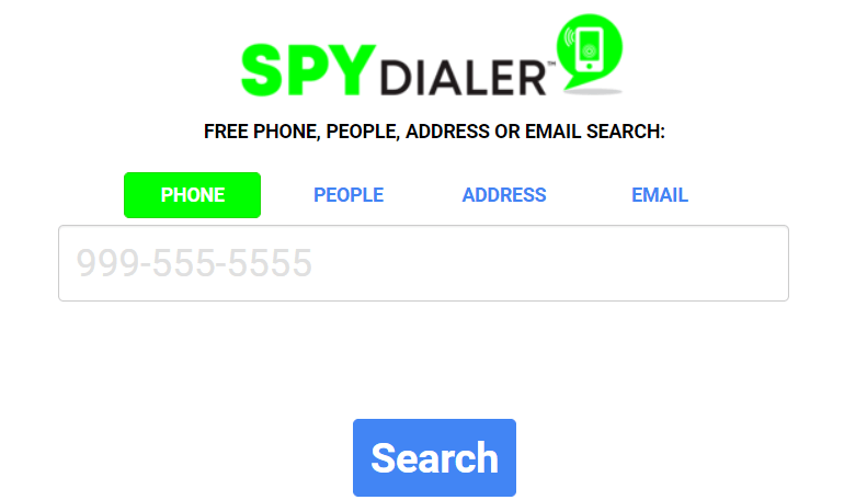 SpyDialer is one of the best reverse phone lookup application.