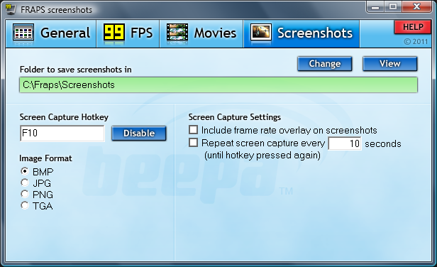 FRAPS - Screen Recorder