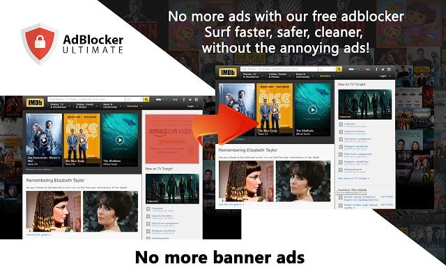 It is one of the best free ad blocker extension for Chrome.