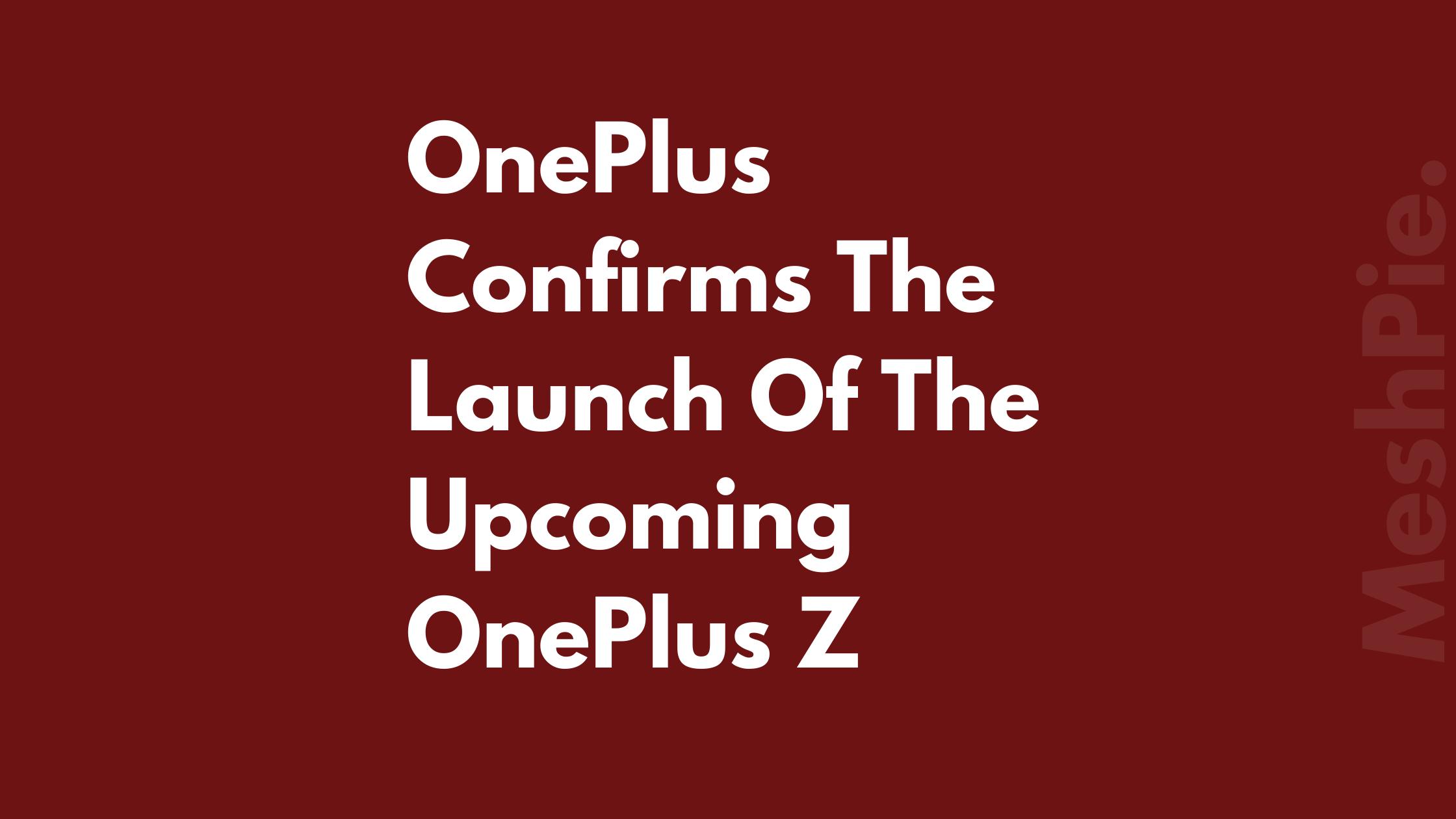 oneplus-Z