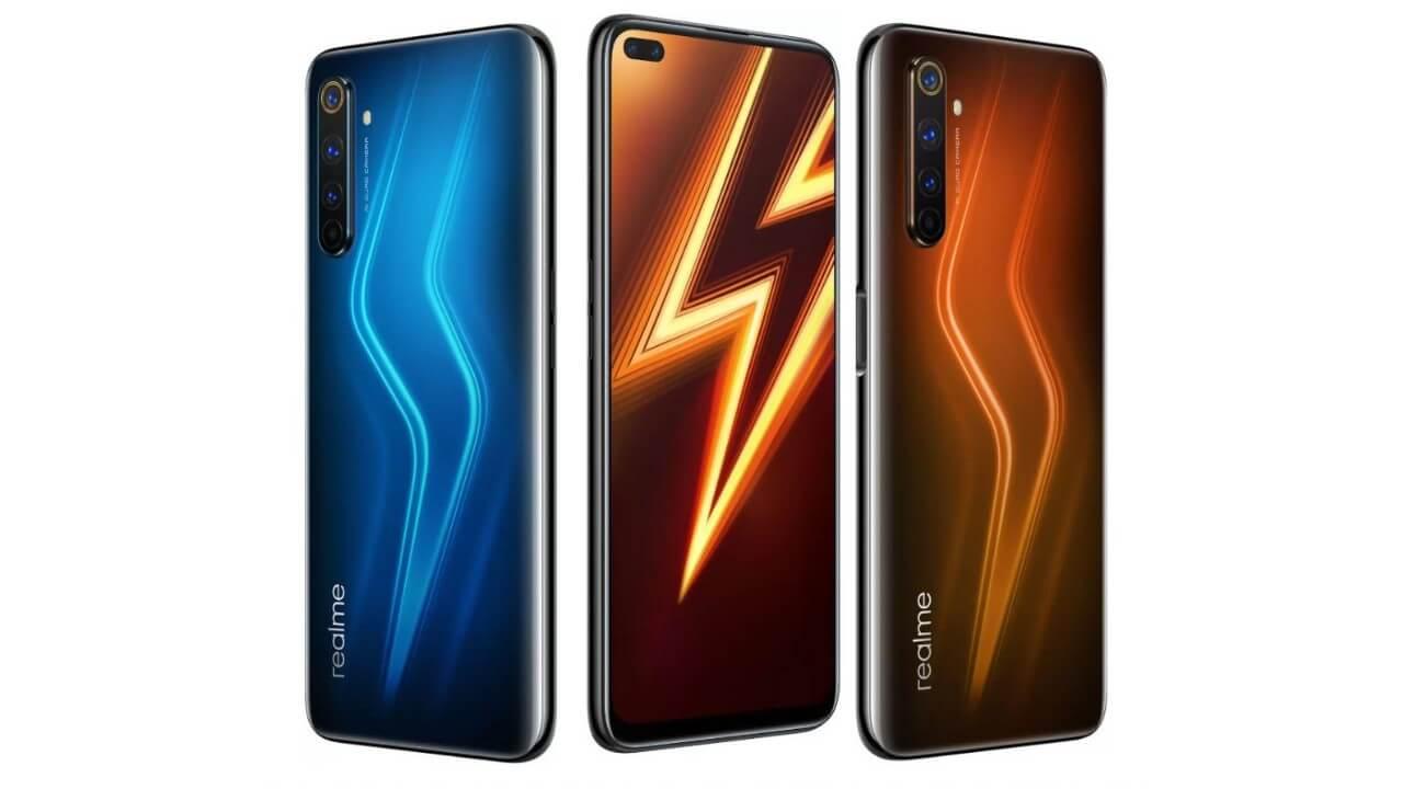 Realme 6 Pro - Smartphones under ₹20000