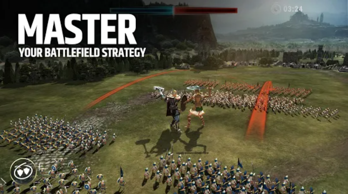 It is one of the best Strategy Games for Android.