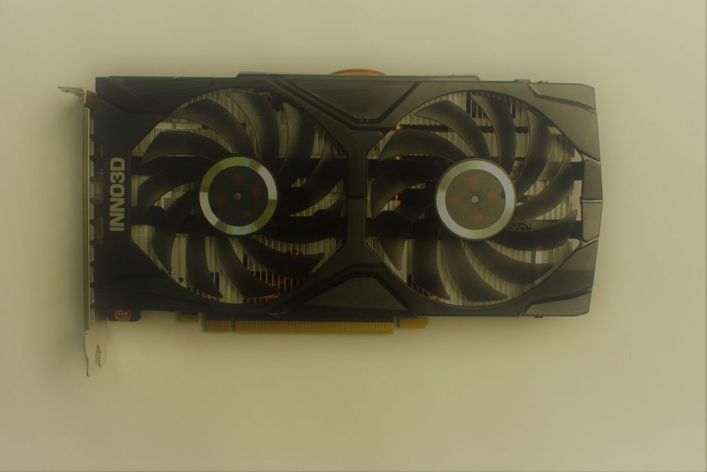 Image showing a graphics card.