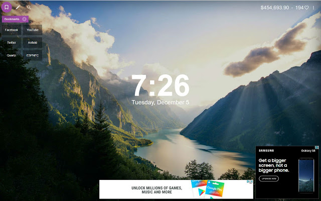 best new tab chrome extensions - tab for a cause