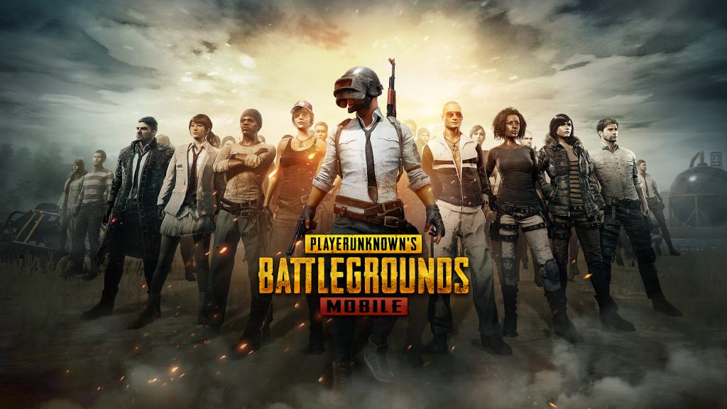 Image showing pubg mobile game's poster