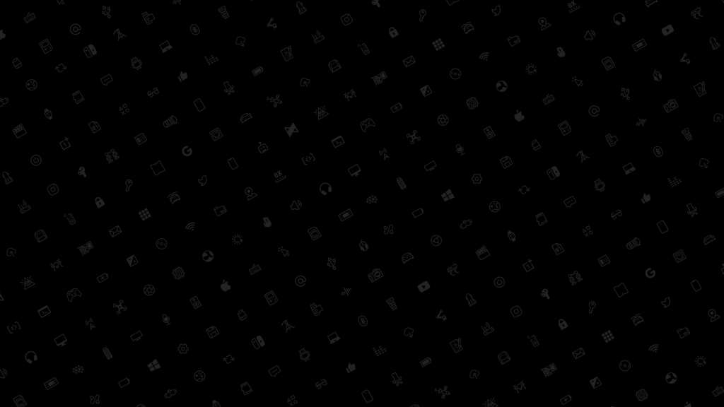 MKBHD Icon wallpaper - Black