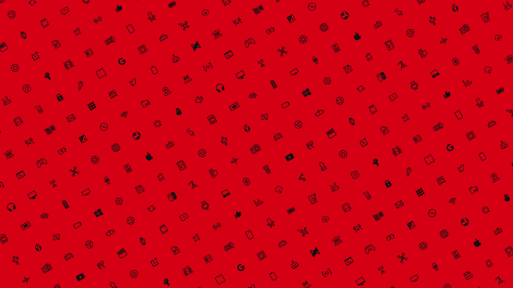 MKBHD Icon wallpaper - red