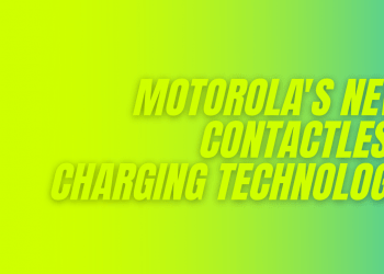 Motorola contactless charging