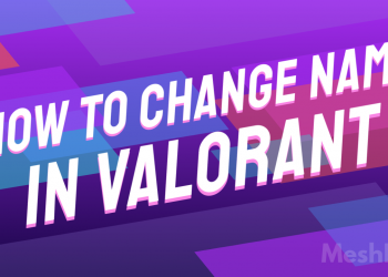 How to change name in valorant