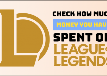 easily check how much you have spent in league of legends