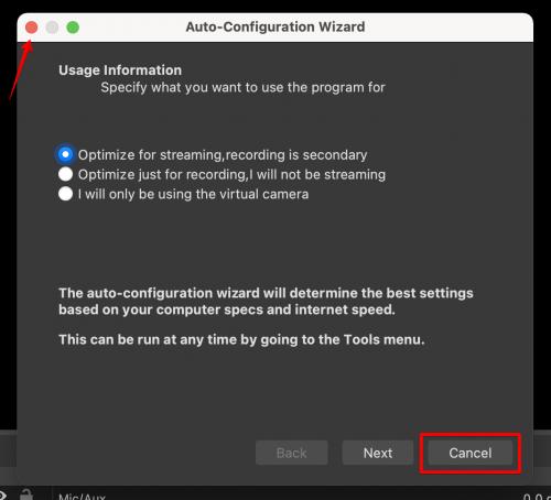 OBS Auto Configuration Wizard